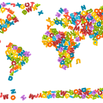 mapa mundi infantil decorativo